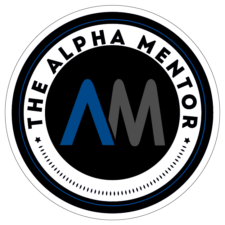 The Alpha Mentor seal - Advice for Men